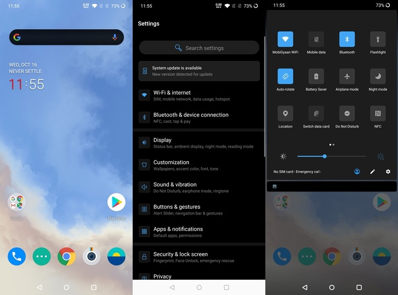 How to enable Dark Mode on OnePlus 7T [Guide]   DLite Tech